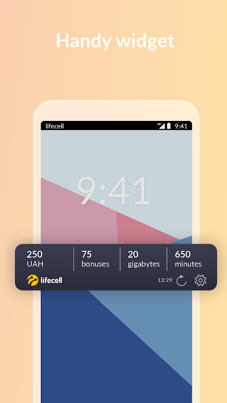 My lifecell 4.2.1 Screen 5