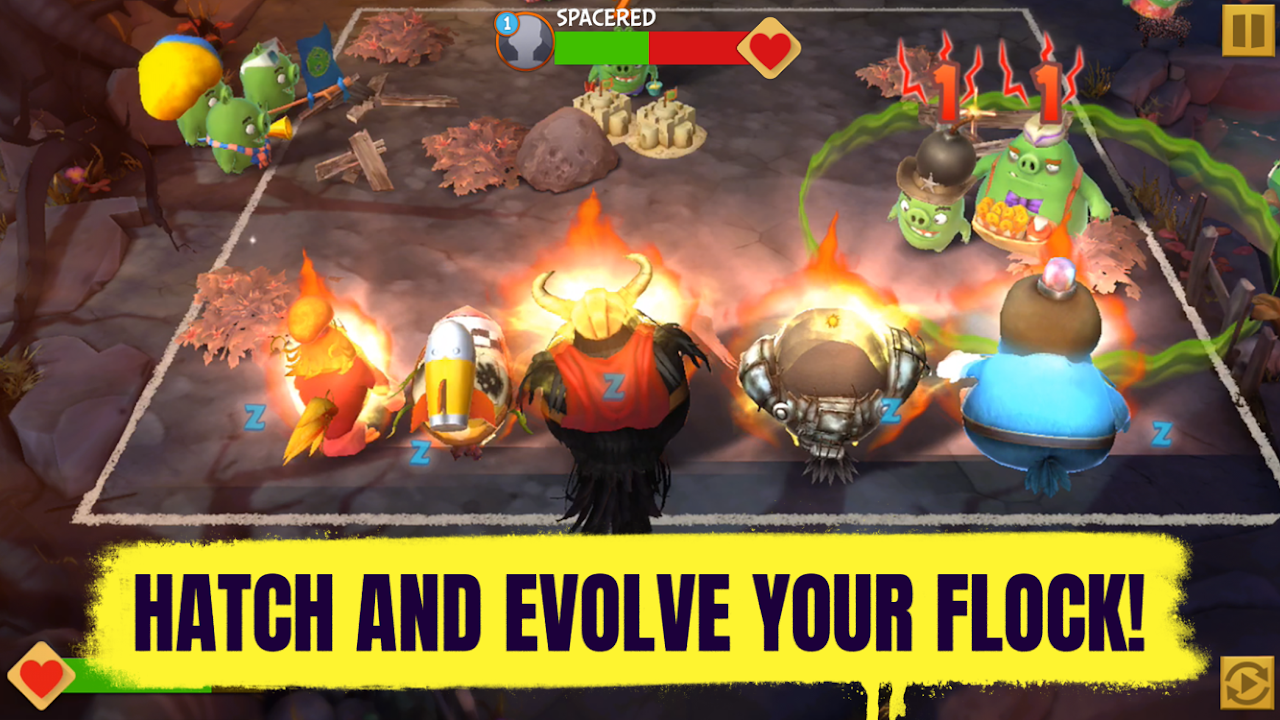 Android Angry Birds Evolution Screen 2