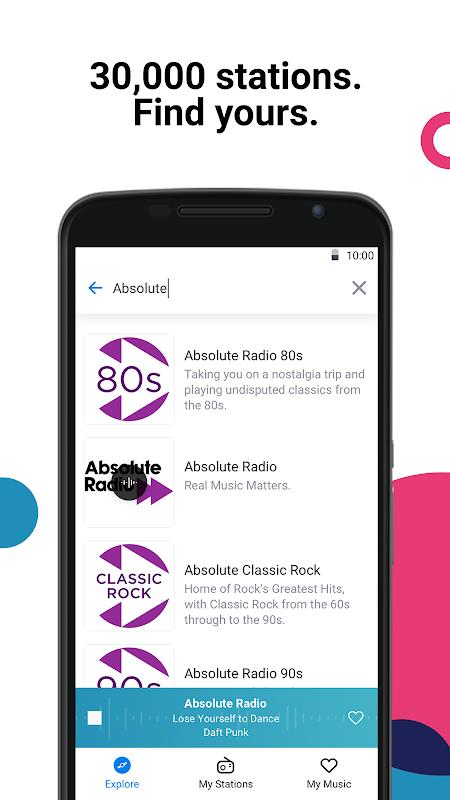 Radio by Deezer: FM Stations & Online Radio Player 1.1.1 Screen 3