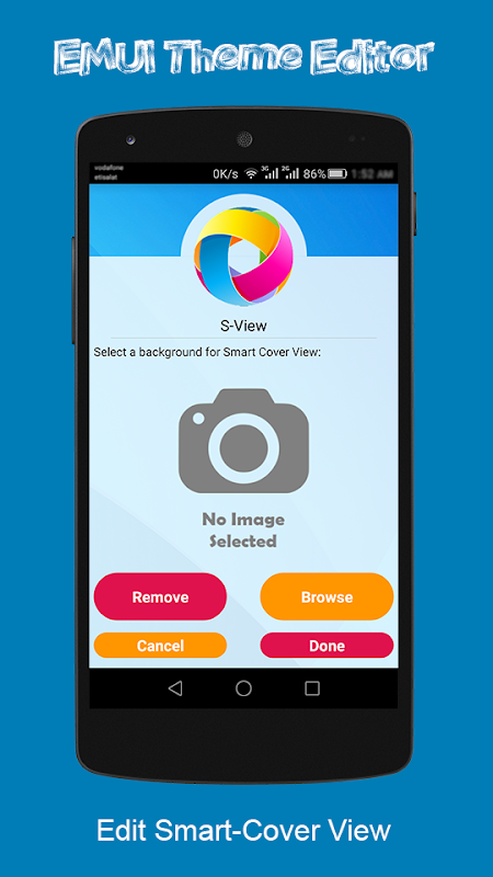 Android EMUI Theme Editor Screen 4