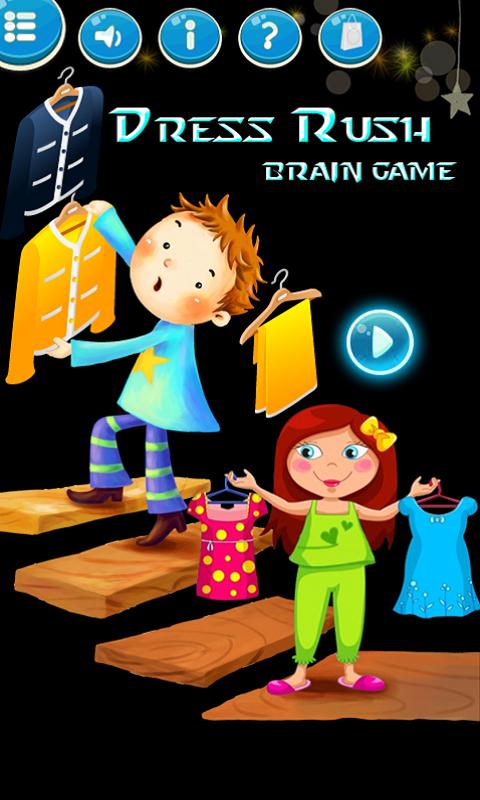 Dress Rush Brain Game 1.0 Screen 1