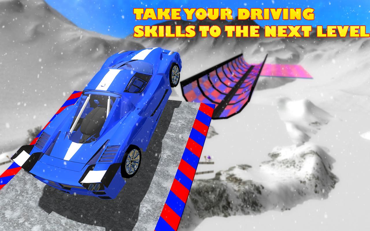 Android Extreme Stunts GT Racing Car Screen 1