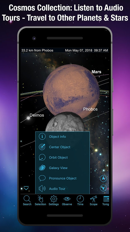 SkySafari 5 5.4.0.0 Screen 3
