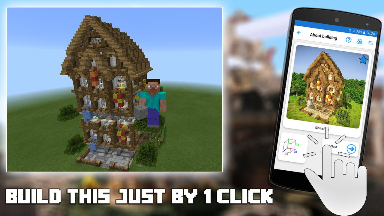 Builder PRO for Minecraft PE 13.4 Screen 1