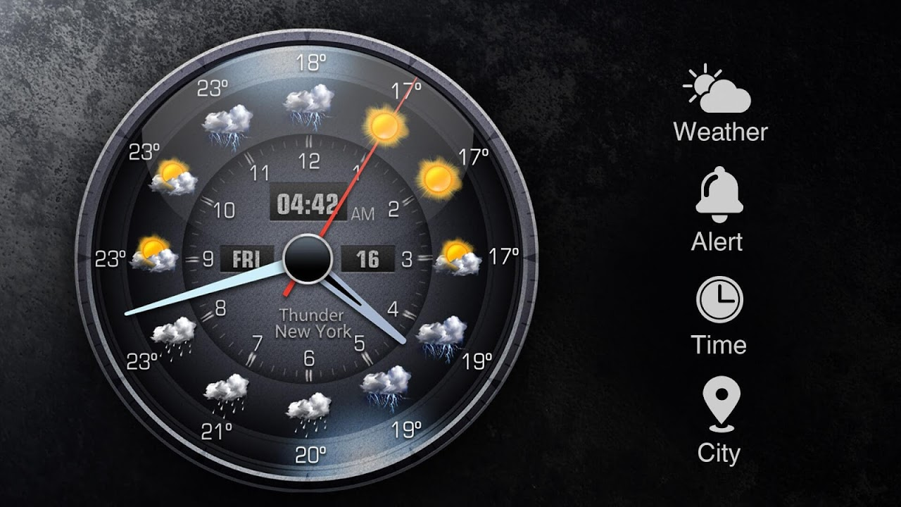 Android Local Weather Report Widget Screen 10