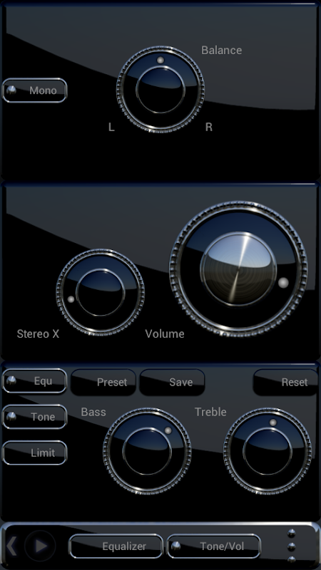 DEVANCE Poweramp skin 3.08 Screen 7