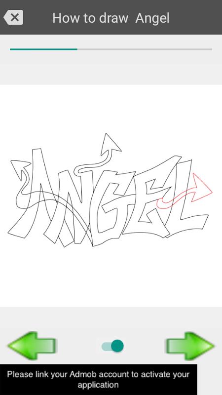 Android Draw graffiti 3D Screen 3