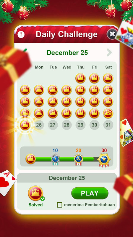 Solitaire 1.13.167 Screen 1