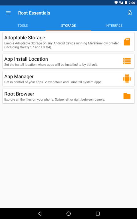 Root Essentials 2.4.9 Screen 26