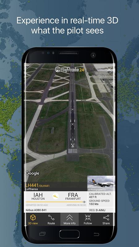 Android Flightradar24 Free Screen 5