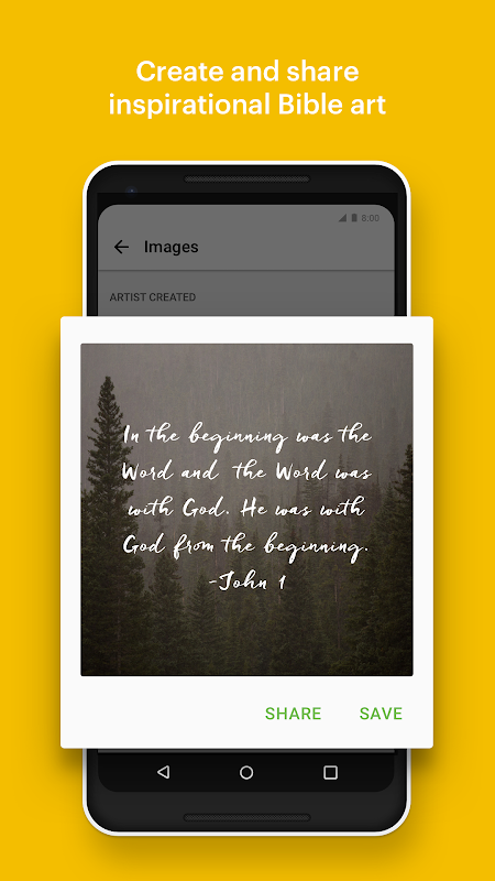 Android Bible: Daily Verse, Study, Audio and Devotions Screen 3
