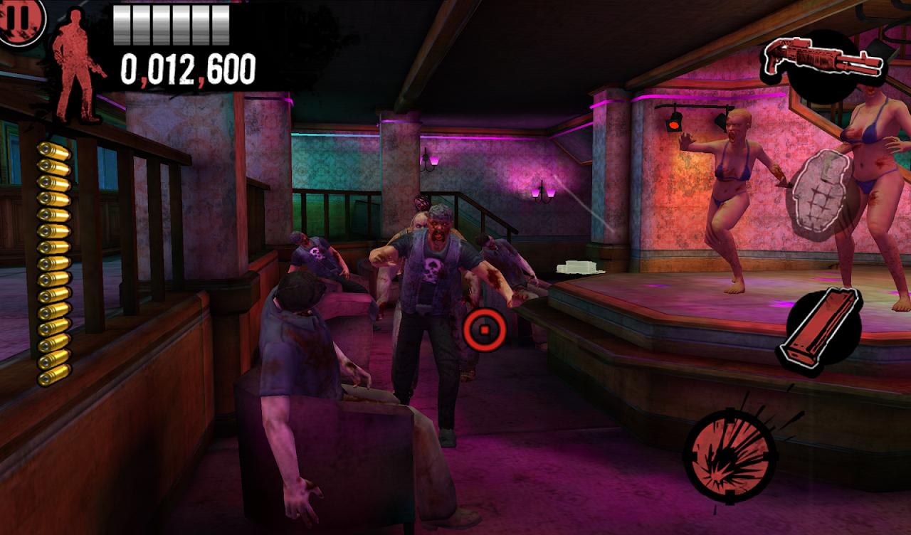 house of the dead overkill apk mod