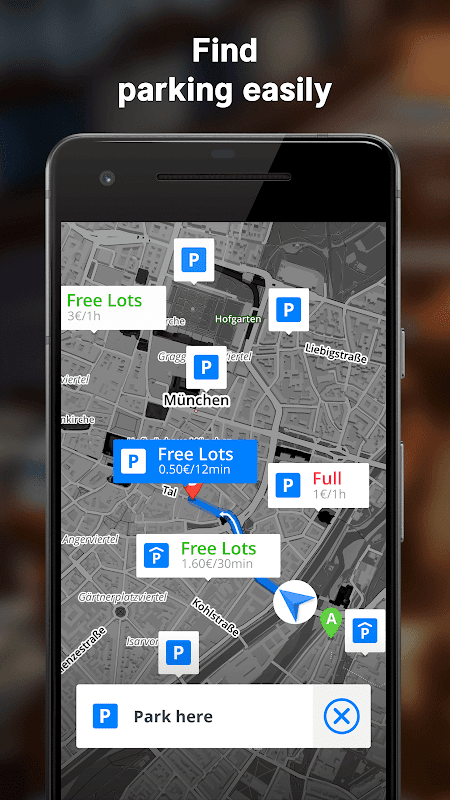 Android GPS Navigation & Maps Sygic Screen 14