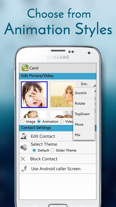 Animated Full Screen Caller ID 1 3 APK Download by AppzCloud