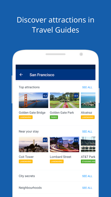 Android Booking.com Hotel Reservations Screen 13