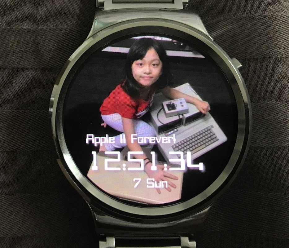 Android Photo Watch 2 (Wear OS) Screen 2