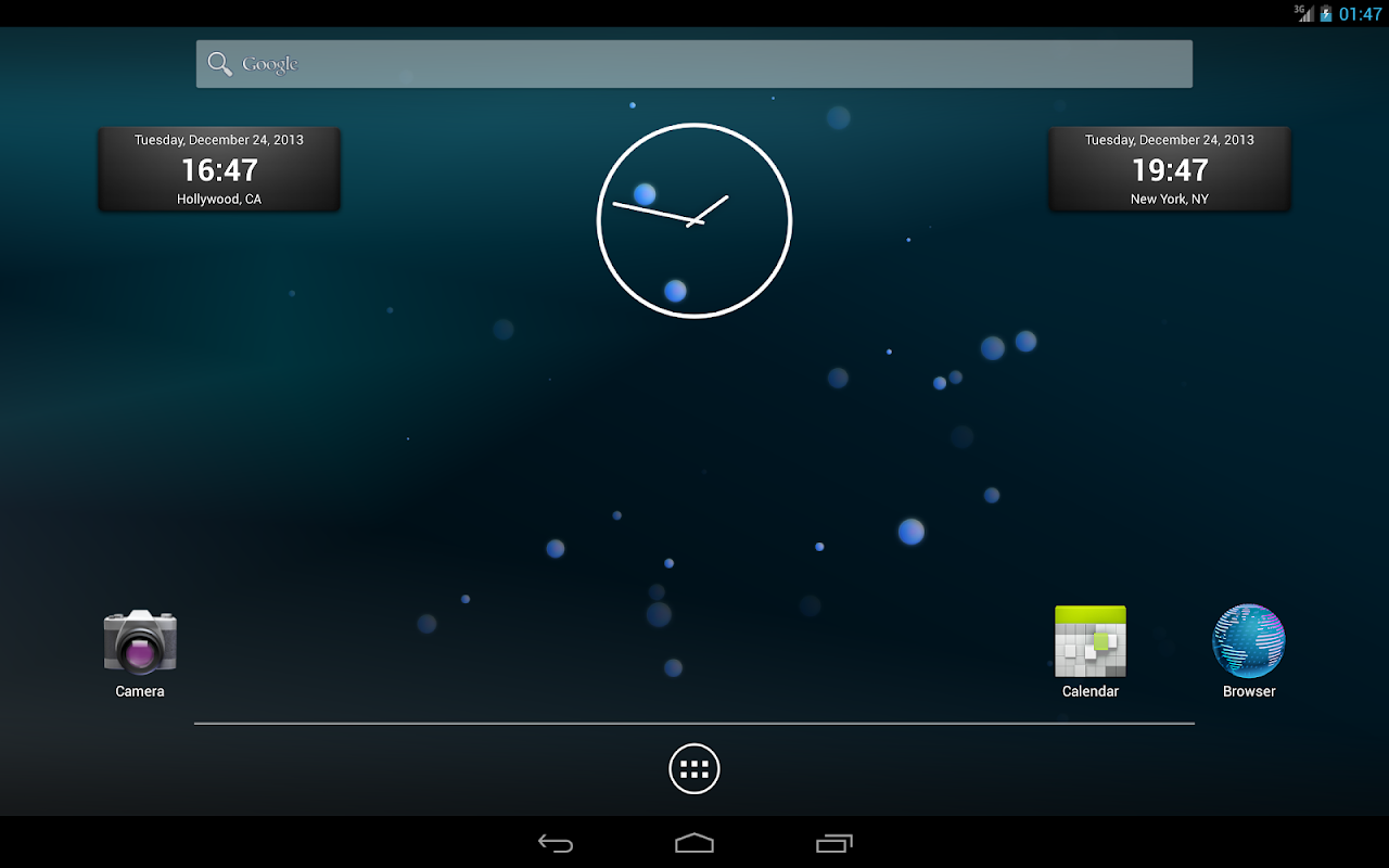 Android CKLabs Bubbles LWP Screen 3