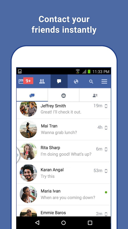 Facebook Lite 30.0.0.8.65 Screen 2