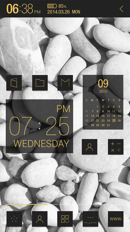Android Atom All in One Widgets Screen 4