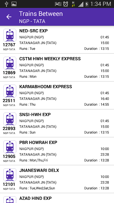 Live Train Status 29.0 Screen 7
