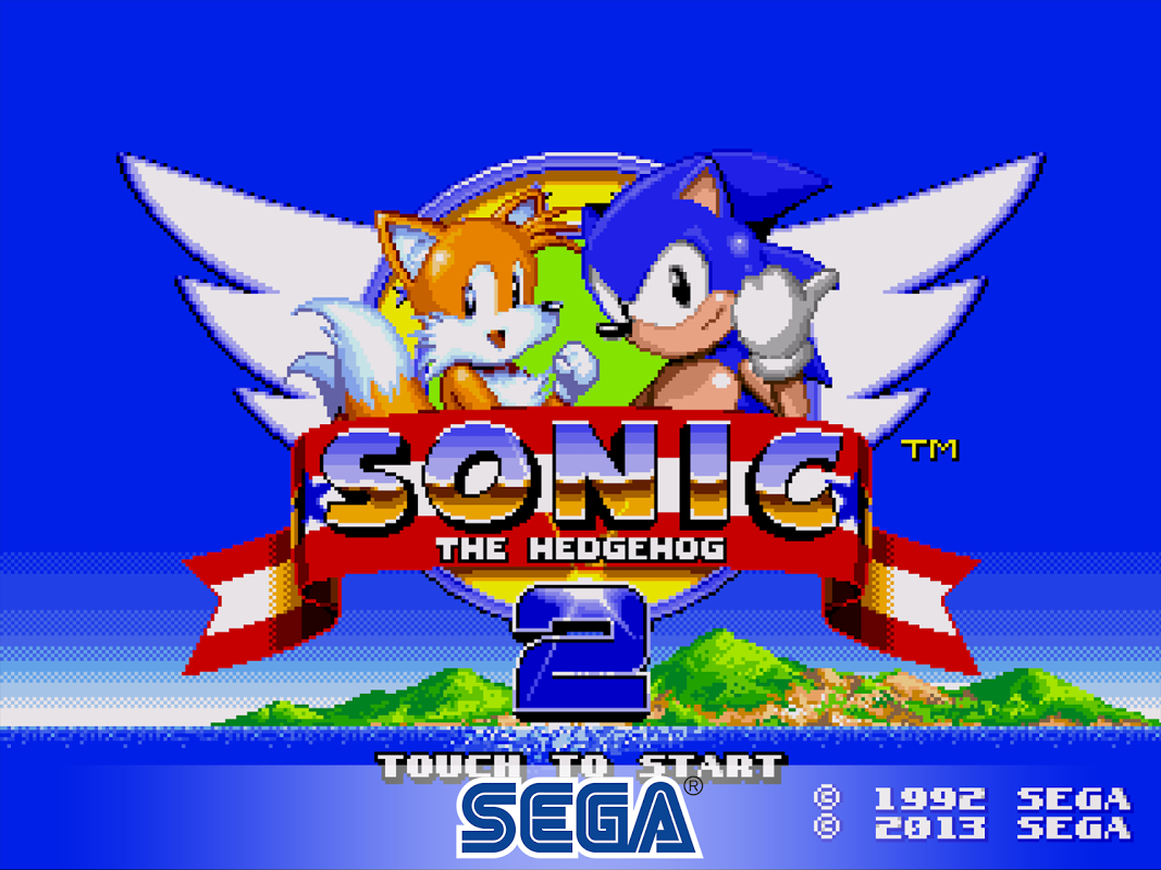 Android Sonic The Hedgehog 2 Classic Screen 1