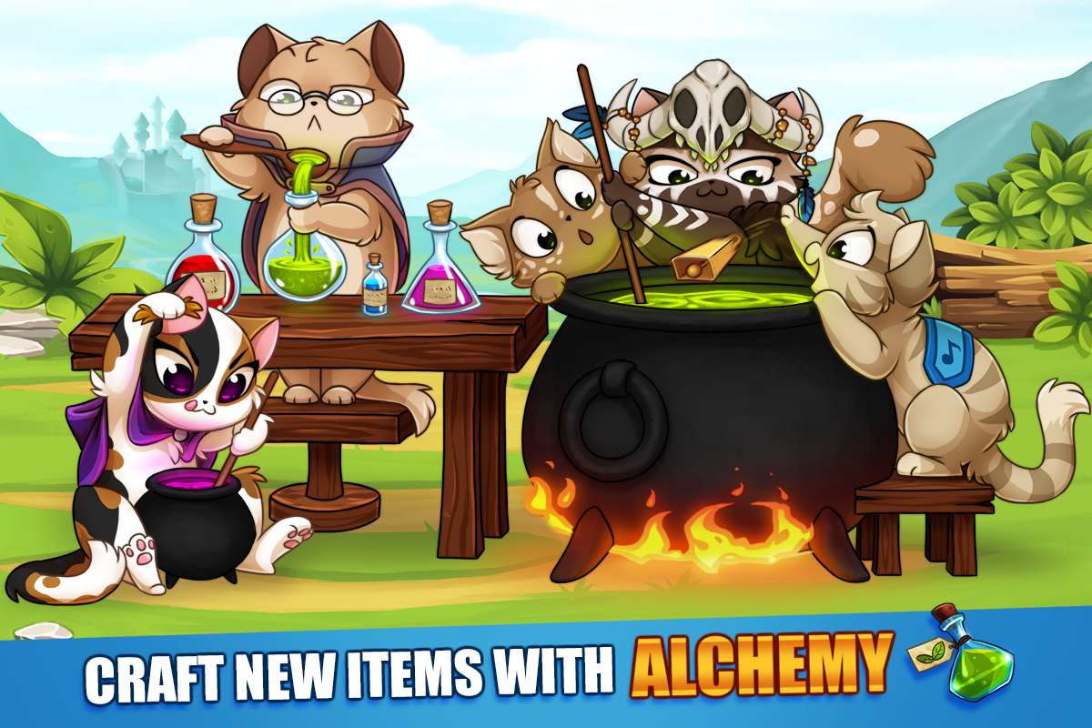 Android Castle Cats: Epic Story Quests Screen 9