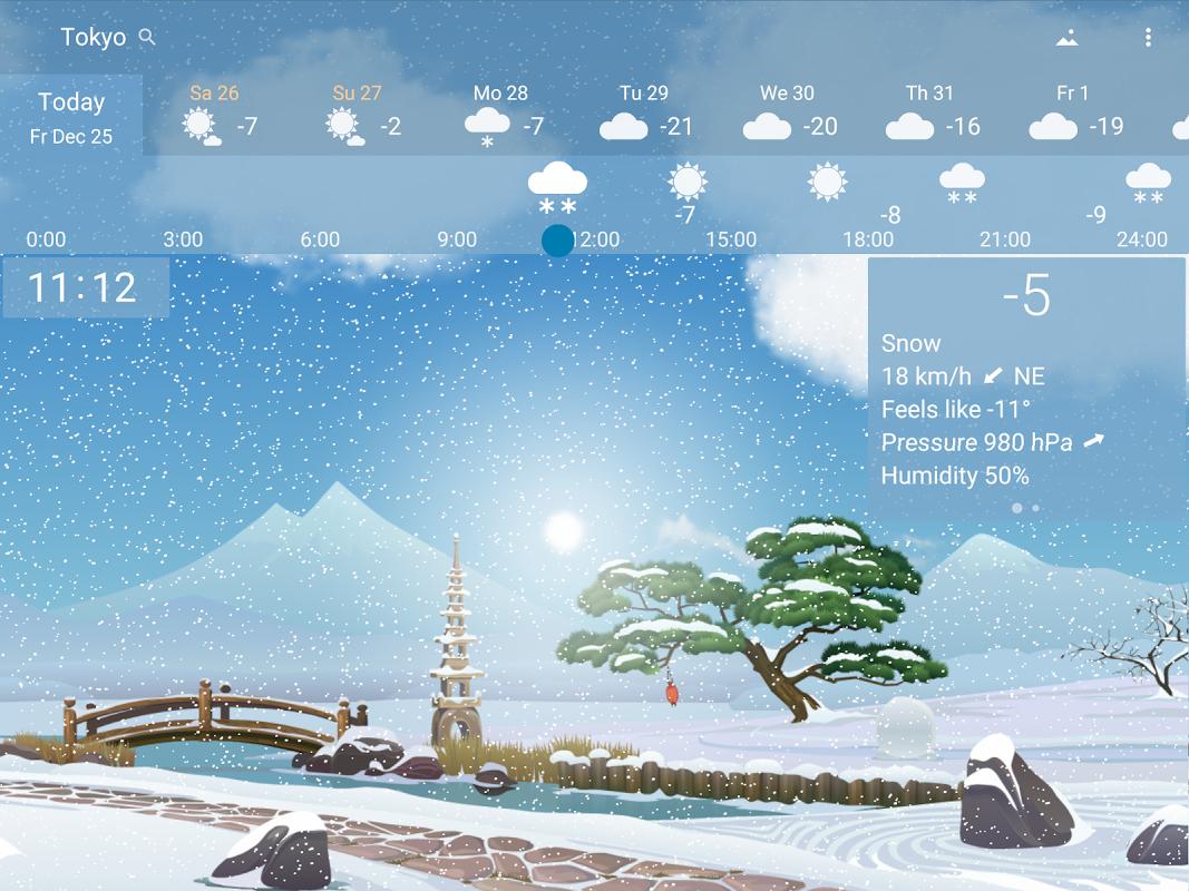Precise Weather YoWindow 1.33.17 Screen 10