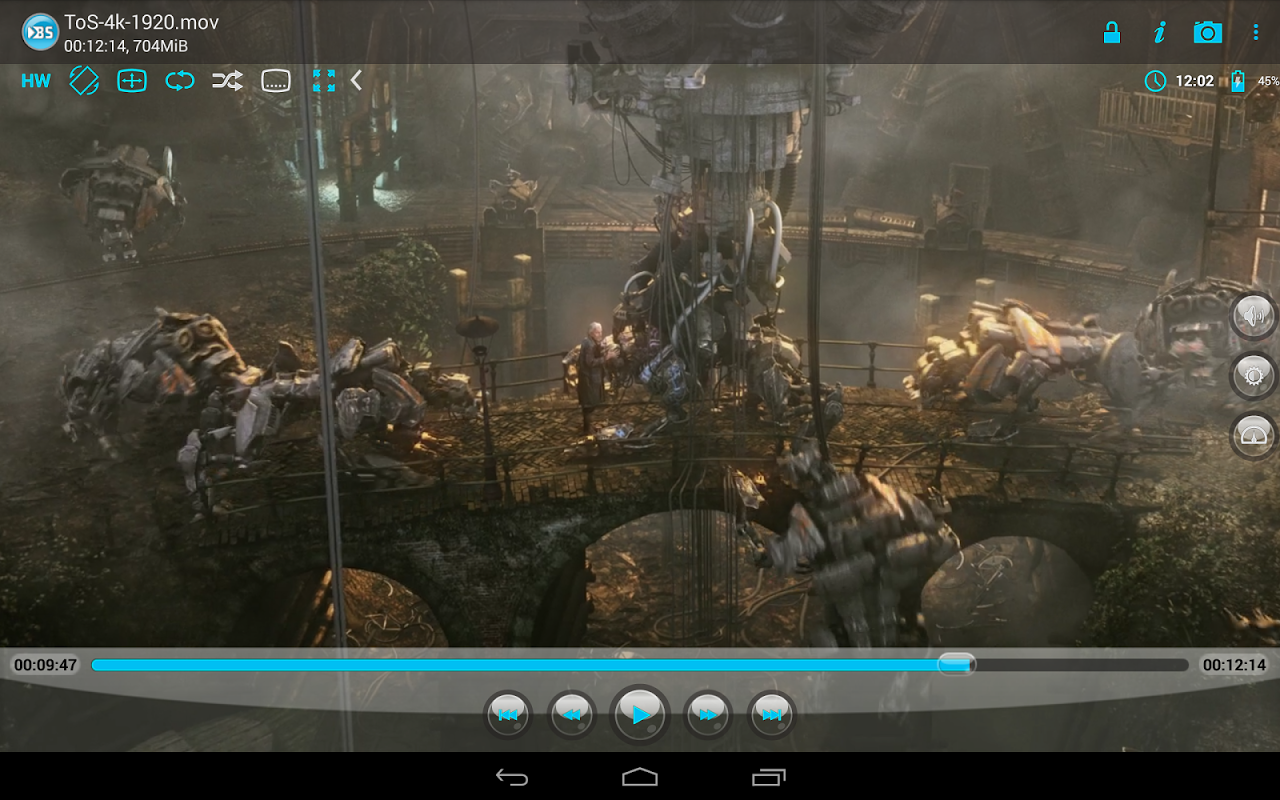 Android BSPlayer Screen 4