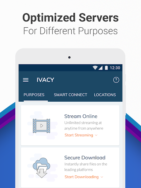 Android Ivacy VPN - Best Fast VPN Screen 17