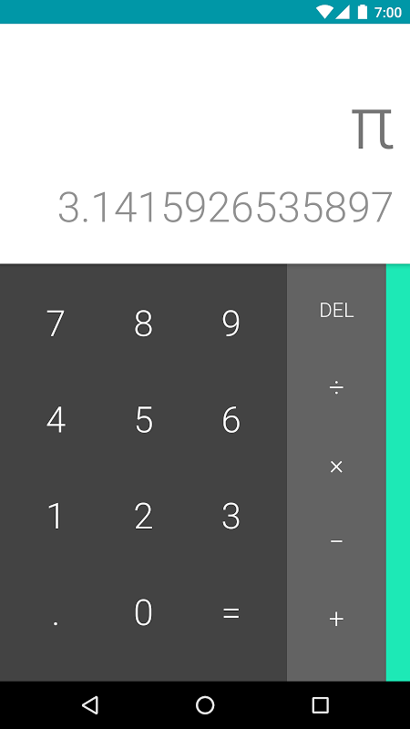 Calculator 7.0.1 (3138825) Screen 4