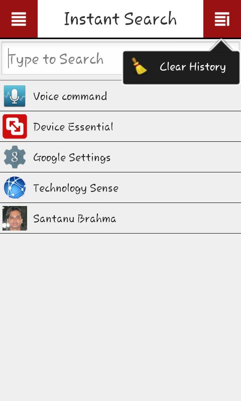 Device Essential 1.3.0 Screen 3