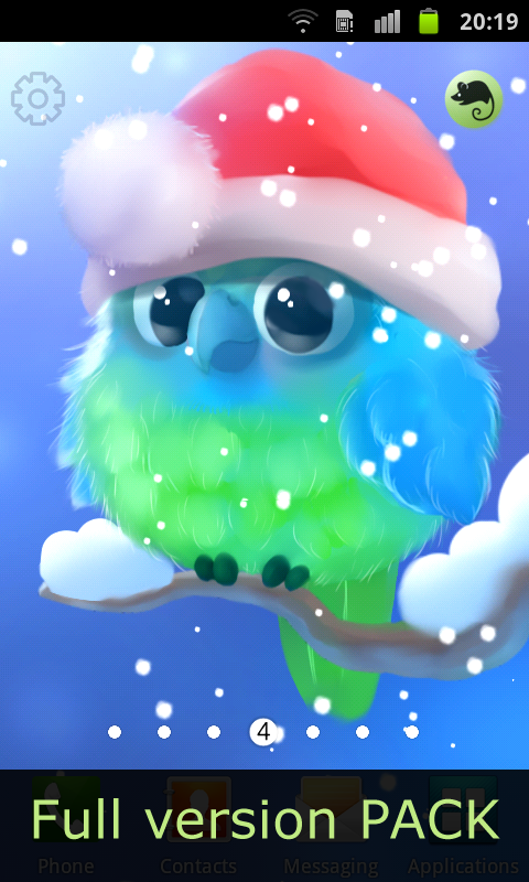 Android Kiwi The Parrot Screen 4