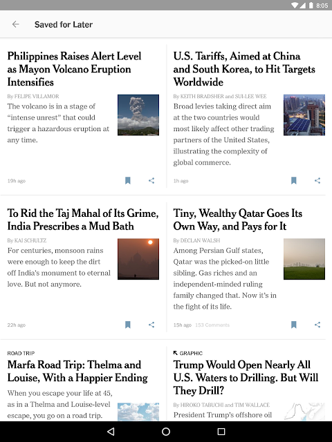 NYTimes - Latest News 6.20.8 Screen 7