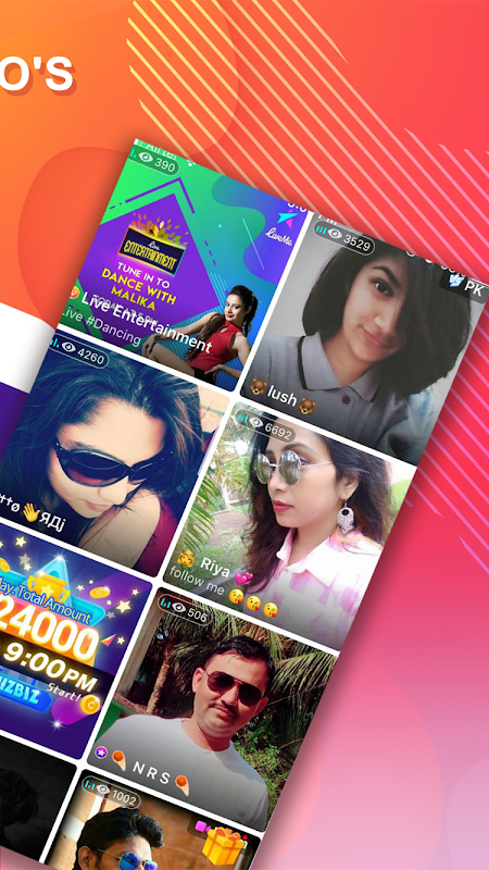 LiveMe - Video chat, new friends, and make money 4.0.80 Screen 1