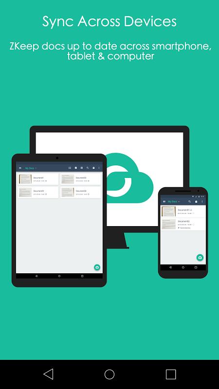 Android CamScanner -Phone PDF Creator Screen 5