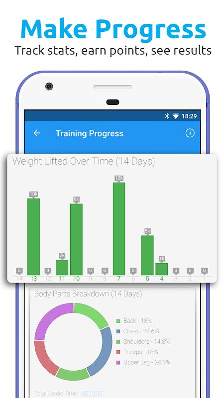 JEFIT Workout Tracker, Weight Lifting, Gym Log App 10.13 Screen 3