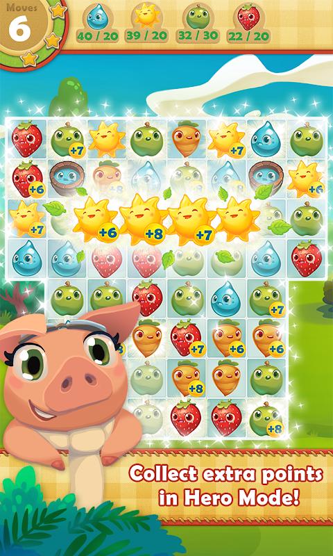 Android Farm Heroes Saga Screen 3