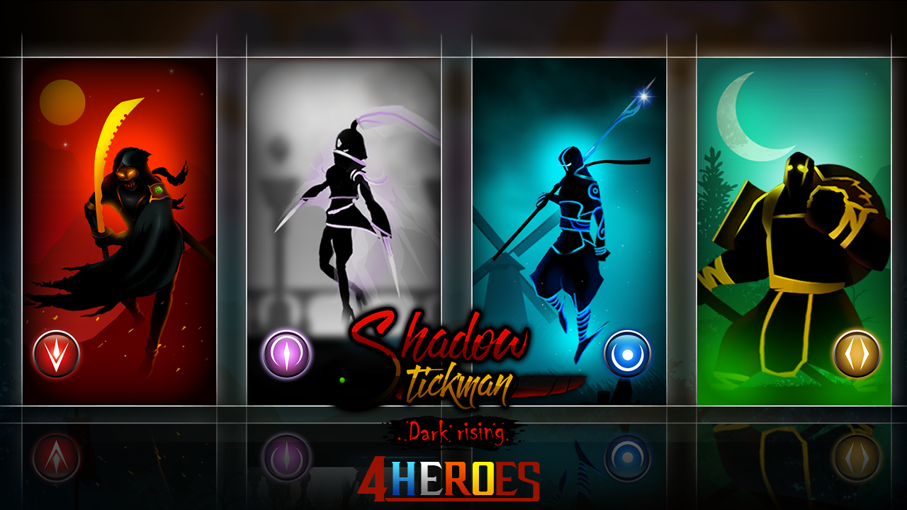 Android Shadow Stickman: Dark rising – Ninja warriors Screen 6