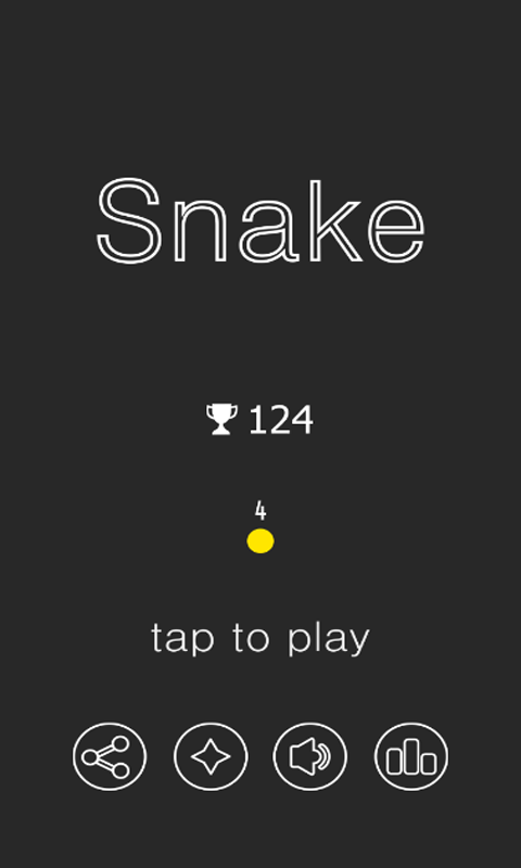 Android Snake VS Block Screen 1