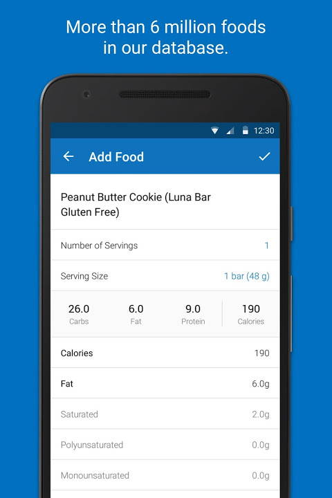 Calorie Counter - MyFitnessPal 18.11.6 Screen 1