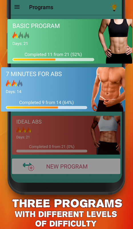 Abs workout plan for 30 days 3.2 Screen 1