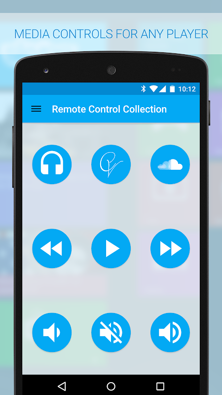 Android Remote Control Collection Screen 7