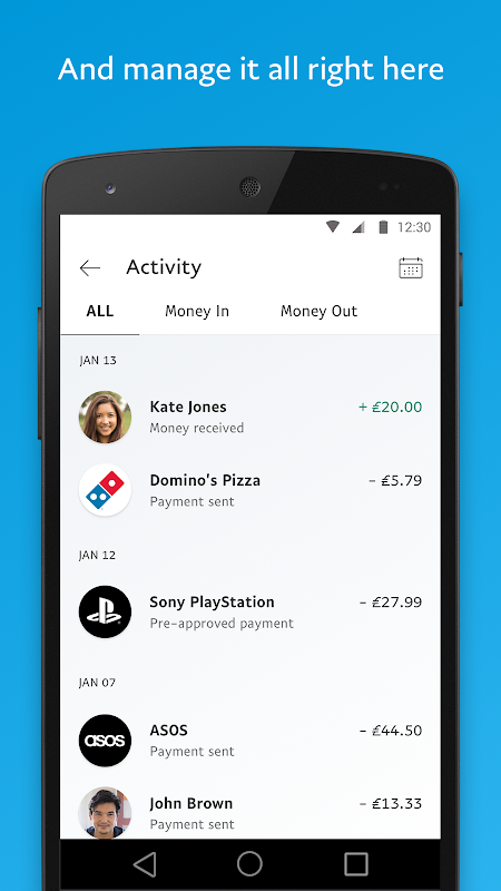 PayPal 7.2.0 Screen 4