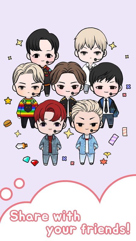 Android Oppa doll Screen 3