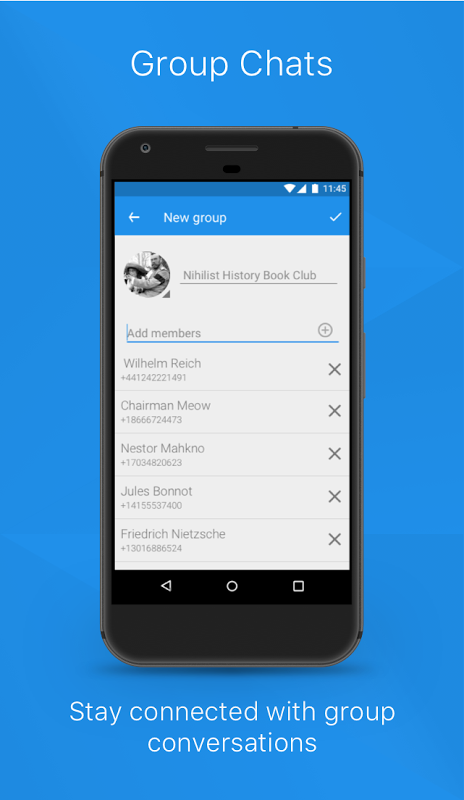 Signal Private Messenger 4.14.2 Screen 3