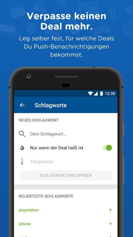 Android mydealz – Gutscheine, Schnäppchen, Angebote, Sale Screen 3