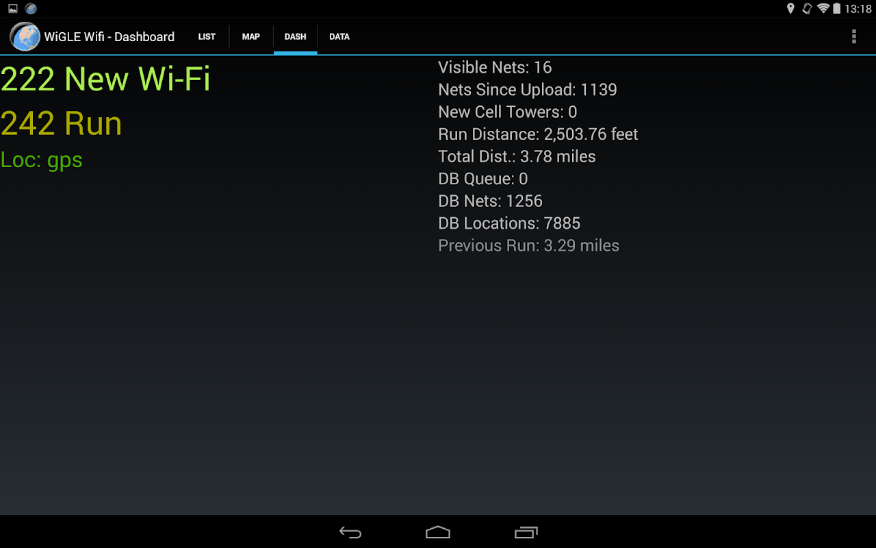 WiGLE WiFi Wardriving 2.39 Screen 11