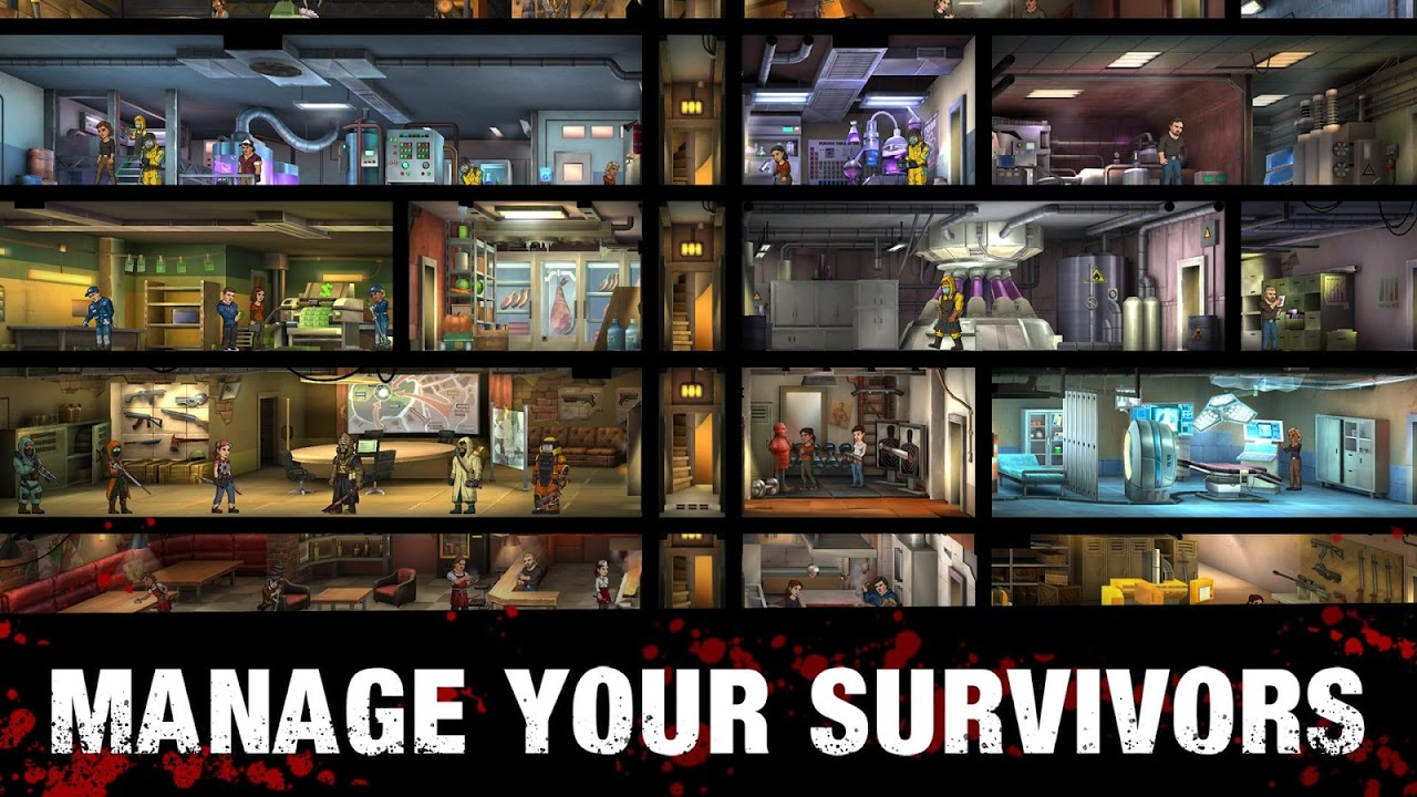 Zero City: Zombie games for Survival in a shelter 1.4.0 Screen 4