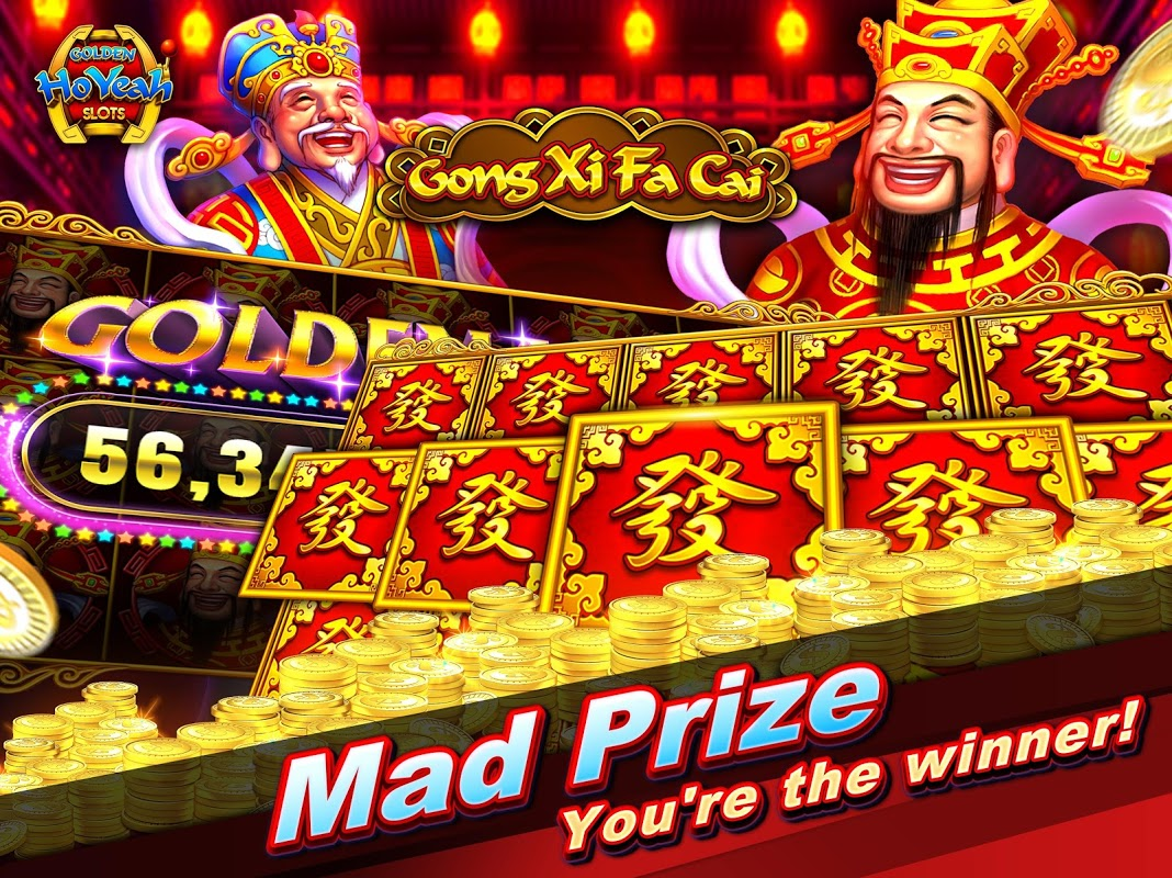 Slots (Golden HoYeah) - Casino Slots 2.3.0 Screen 6