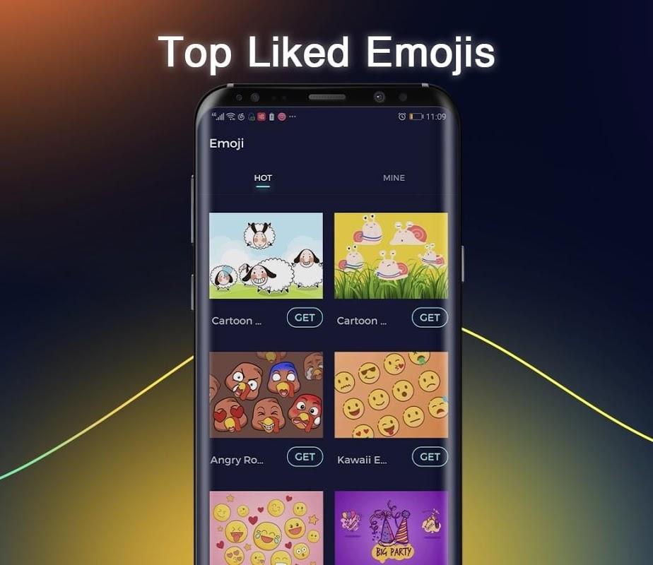Cheetah Keyboard -   Emoji,Swype,DIY Themes 5.0.0 Screen 8